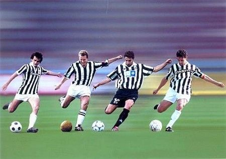 The Juventus DNA - Platini, Boniperti, Del Piero, Baggio.