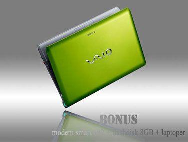 Lebih Canggih Lebih Dari Segalanya, Sony Vaio 11.6 inch! Satu voucher dapat banyak keuntungan, Sony Vaio Notebook VPCYB35AG 11.6 inch hanya Rp4,7 jt Disc. 19% + Bonus Modem Smart 682 + Flashdisk Sandisk 8GB + laptoper cantik! Dapatkan Dealnya di GooDizz.com