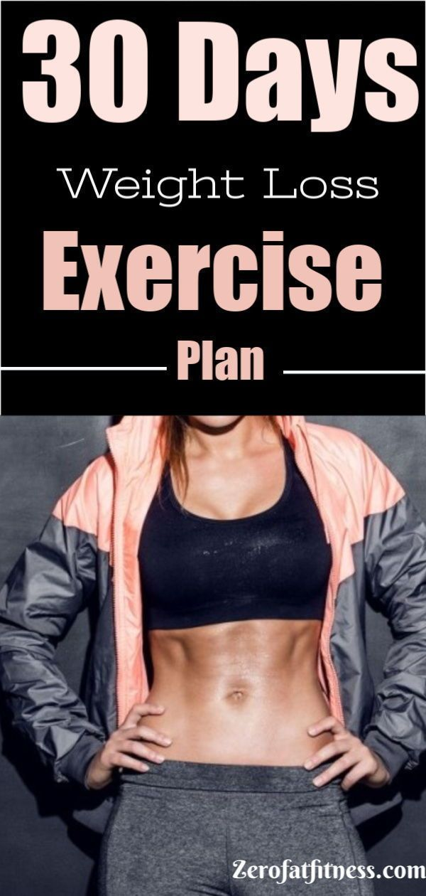 30-Day Weight Loss Plan - Lose 20 Pounds in 30 Days Workout