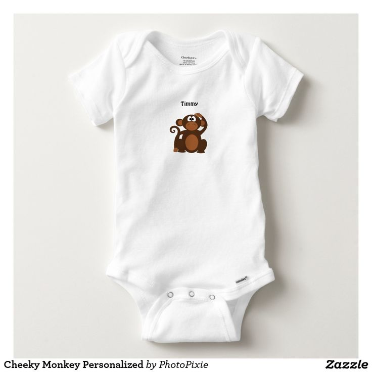 Cheeky Monkey Personalized