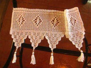 Cortinas Crochet Patrones Gratis Wallpapers Real Madrid