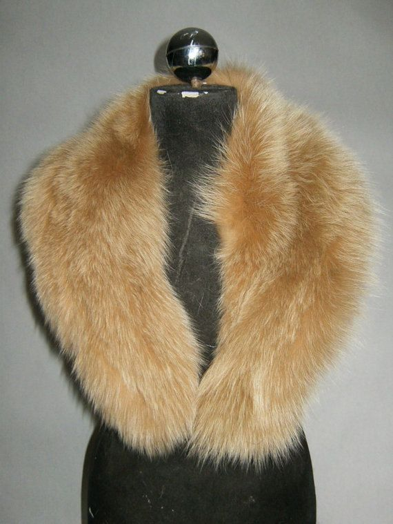 Luxury gift/Fox Fur/ Brown Collar  Women's/wedding or by skffurs