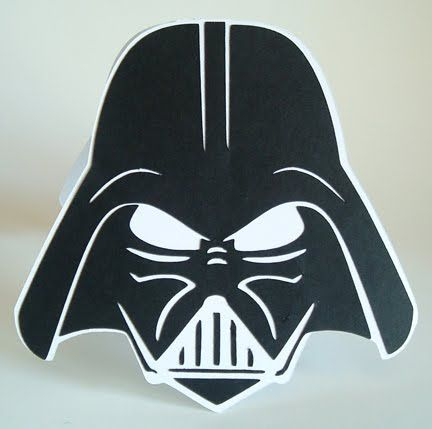 Cricut Cardiologist: Darth Vader Birthday Card svg file