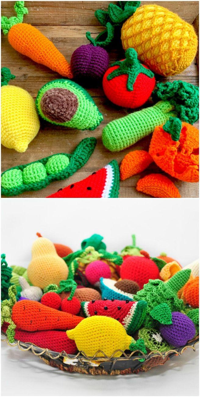 Eat Your Fruits & Veggies Crochet-Along by Twinkie Chan - Creativebug | 1302x656