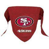 San Francisco 49ers Pet Dog Football Jersey Bandana S/M - http://www.thepuppy.org/san-francisco-49ers-pet-dog-football-jersey-bandana-sm/