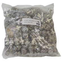 RG58 Stranded BNC Connector with 3 Pieces / Set (100 Sets Per Bag)