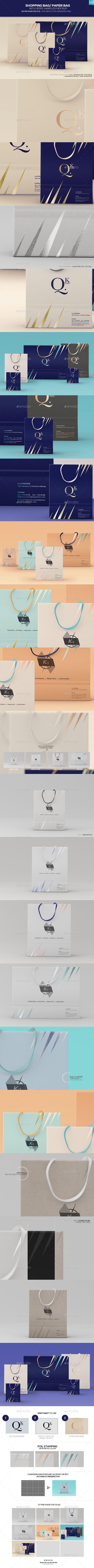 Shopping Bag/ Paper Bag With Rope Handles Mockups #design Download: http://graphicriver.net/item/shopping-bag-paper-bag-with-rope-handles-mockups/13724296?ref=ksioks