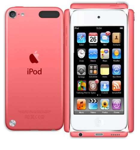 Pink iPod Touch 5th Generation