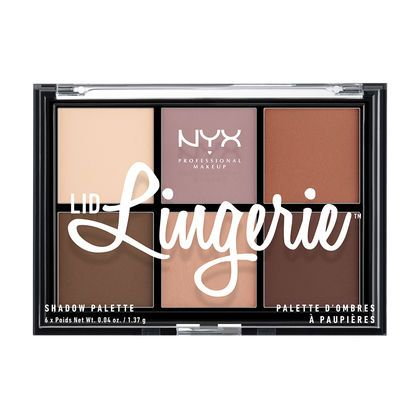 Lid Lingerie Shadow Palette: Love these colors! NYX has surprisingly good eyeshadow for their price point