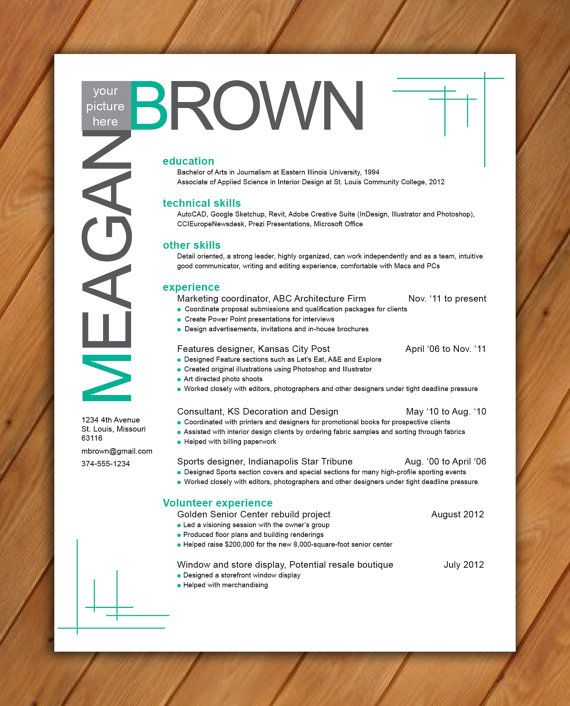 Fancy Resume Template  NinjaTurtletechrepairsCo