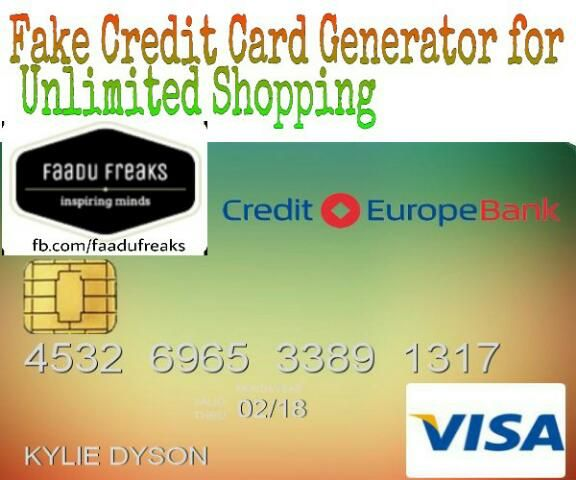 Credit Card Generator With Name in 12  Free credit card, Credit