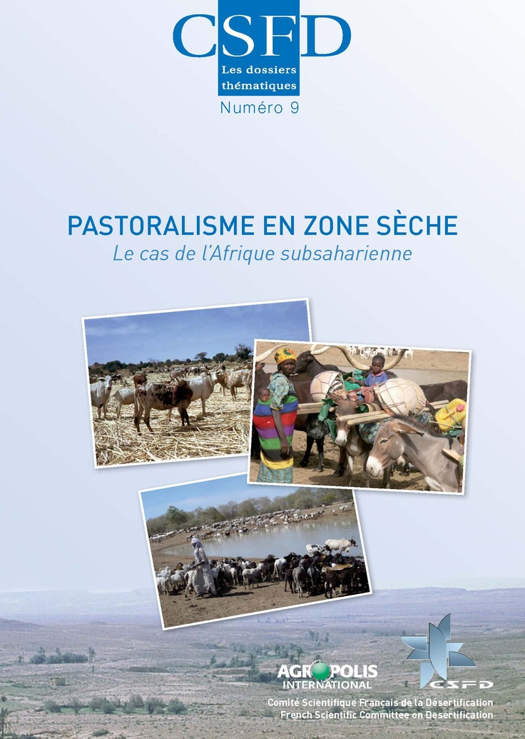 Pastoralisme en zone sèche. Le cas de l'Afrique subsaharienne (B. Toutain et al., février 2012)