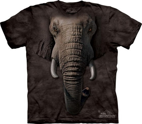 Awesome Realistic 3D Elephant T-Shirt