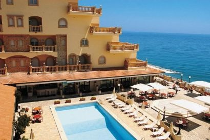 Hellenia Yachting Hotel in Sicily. We spent a blissful week here in 2006.