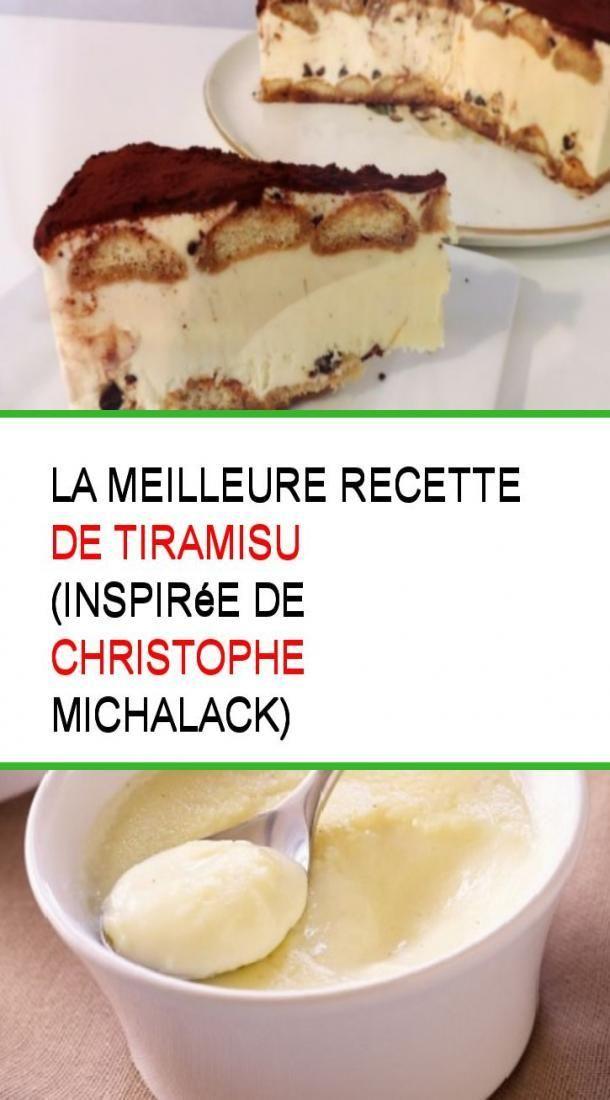 Das beste Tiramisu-Rezept (inspiriert von Christophe Michalack) #Recipe #M …   – Ideas (i will organize this once school is over)