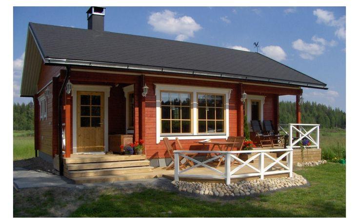 Zrubové a drevené domy KONTIO: LEHTOLA 2B