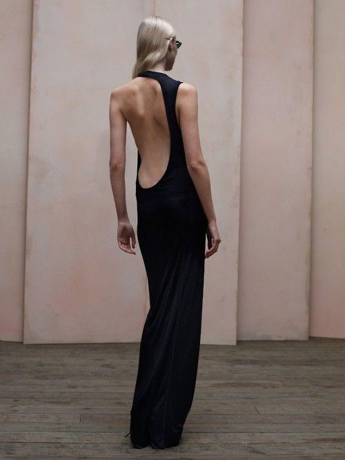 wonderful black and backless   Keep the Glamour   BeStayBeautiful