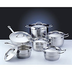 @Overstock - Update your kitchen with a new cookware set  Cookware features stainless steel construction  Cookware set is durable and suitable for all heat sourceshttp://www.overstock.com/Home-Garden/Professional-Stainless-Steel-12-piece-Cookware-Set/3355828/product.html?CID=214117 Add to cart to see special price