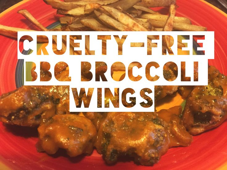 Vegan Barbecue Broccoli Wings !