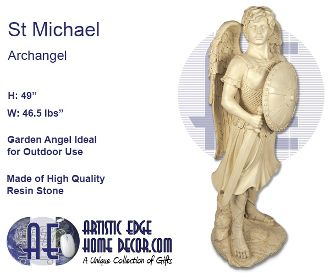 Garden Angel - Archangel St. Michael