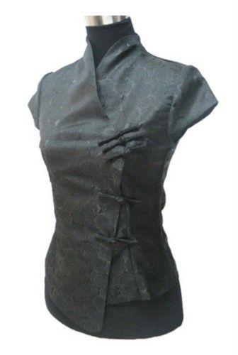 Oriental Chinese Mandarin Evening Shirt Blouse Top BS62 - Oriental Clothes