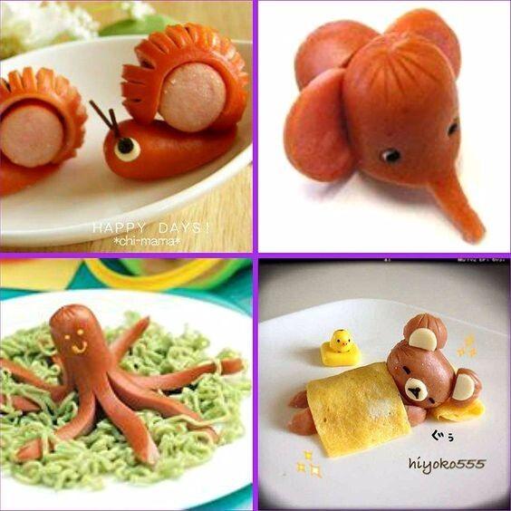 Интересные поделки — Фото | OK.RU в 2020 г | Веселая еда ...