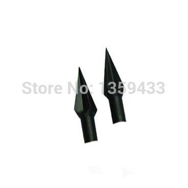 Охота стрелы 10 шт. четыре ребра 2.12 '' длина стрельба из лука с бантом и стрелка наконечник стрелы для деревянные или бамбуковые стрелки broadheads стрельба