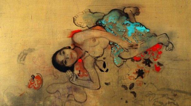 Μαρία Γιαννακάκη: Έκθεση ζωγραφικής στον Τεχνοχώρο