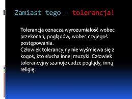 tolerancja - Szukaj w Google