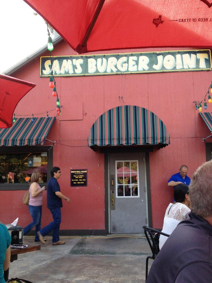 Sam's Burger Joint 330 E Grayson