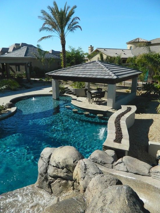 Lazy River Pool Swim Up Bar In Arizona Patio Pinterest Swim