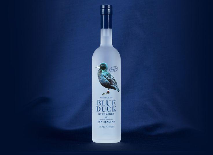 Blue Duck Vodka - rare premium vodka from New Zealand - www.blueduckvodka.co.nz