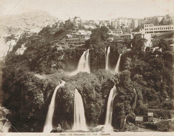 "dame-de-pique: ""  Fratelli D'Alessandri -  Tivoli - Cascatelle, 1880s """
