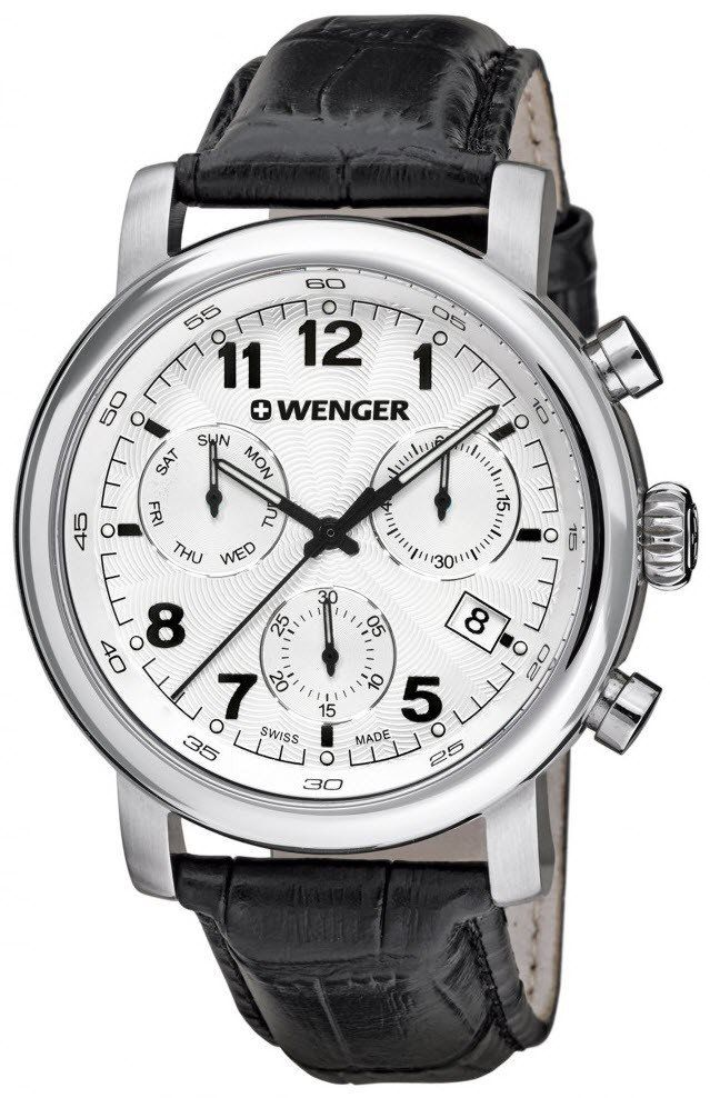 Wenger Watch Urban Classic Chrono #add-content #bezel-fixed #bracelet-strap-leather #brand-wenger #case-depth-11-45mm #case-material-steel #case-width-43mm #chronograph-yes #classic #date-yes #day-yes #delivery-timescale-4-7-days #dial-colour-white #gender-mens #movement-quartz-battery #official-stockist-for-wenger-watches #packaging-wenger-watch-packaging #style-dress #subcat-urban #supplier-model-no-01-1043-109 #warranty-wenger-official-3-year-guarantee #water-resistant-100m
