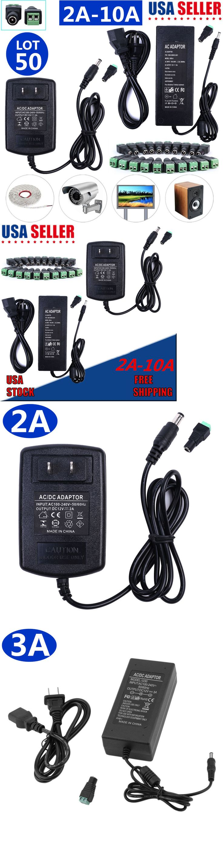 Lighting Parts and Accessories 20705: Ac Dc Power Supply Adapter Transformer 12V 2 3 5 6 8 10A For 5050 3528 Led Strip -> BUY IT NOW ONLY: $439 on eBay!