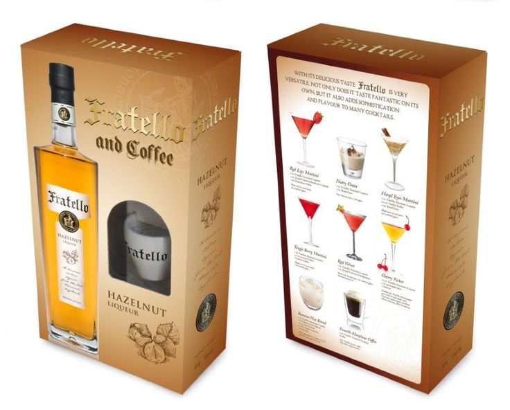 Fratello Hazelnut Liqueur Gift Box