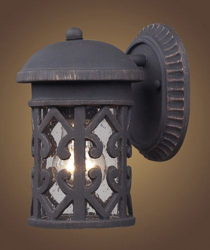 ELK Lighting 42065 1 Tuscany Coast One Light Outdoor Sconce In