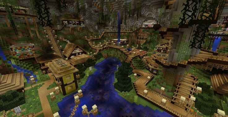 Minecraft Houses Fantasy Minecraft In 2020 Minecraft Underground Minecraft Blueprints Minecraft