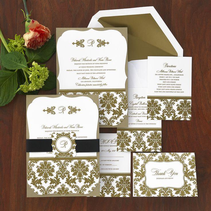Classic Wedding Invitations The American Wedding