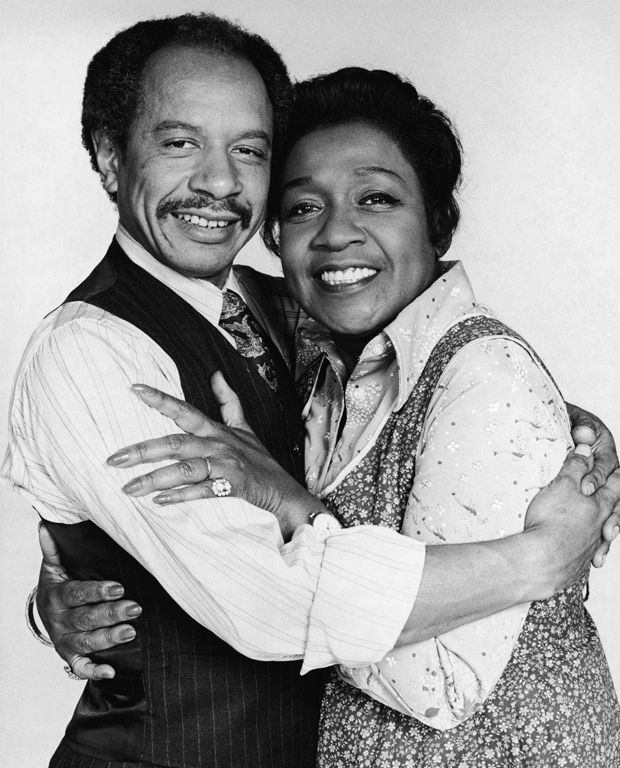 Sherman Hemsley and Isabel Sanford - via the TV - missing both of them - now they are in the Heaven!