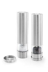 ZACK 20933 FACILE electric pepper mill by Roden International. $96.00. Electric pepper mill. Stainless steel. Dishwasher-safe. easy to clean. Brushed finish. ZACK 20933 FACILE electric pepper mill. This sleek mill brings your table setting to new heights. Matte stainless steel construction provides a substantial feel. The small tray makes sure that no pepper end up on your table. German design.. Save 19%!
