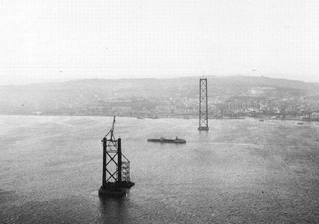 25 de Abril Bridge, Lisbon, Portugal. The construction began on 5 November 1962.