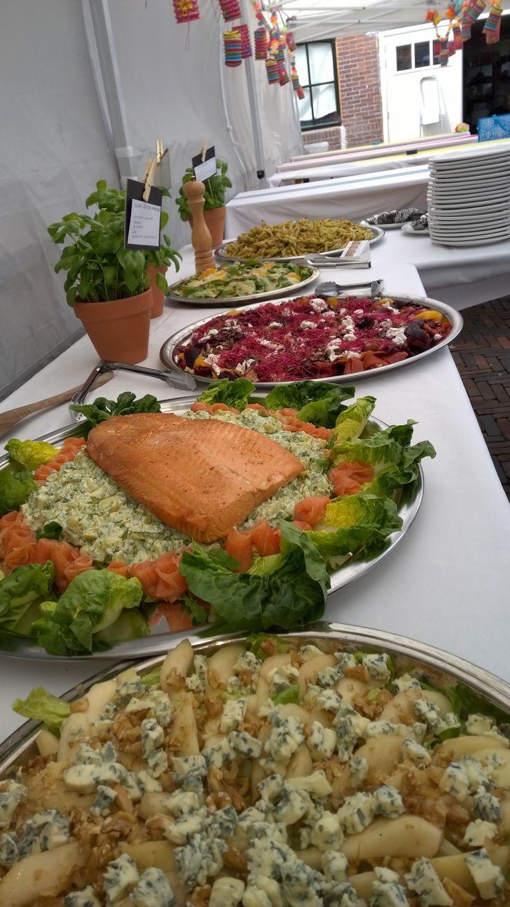 saladebuffet verzorgd door Wouters Keuken