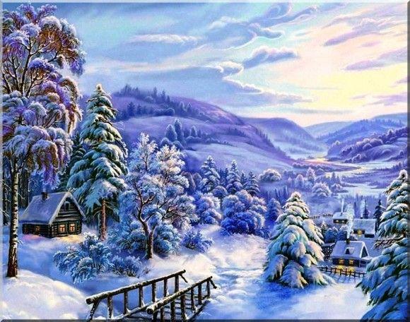 Havas és karácsonyi képek