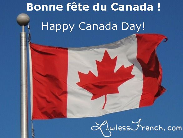 Bonne fête du Canada ! Watch this video to learn about Canada's national holiday while working on your French listening comprehension. https://www.lawlessfrench.com/listening/fete-du-canada/