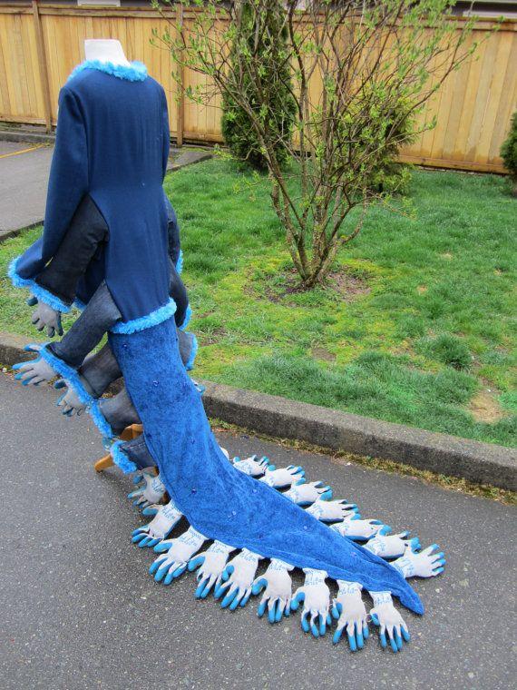 Upcyled Caterpillar Jaquet  Blazer voorzien en door enduredesigns