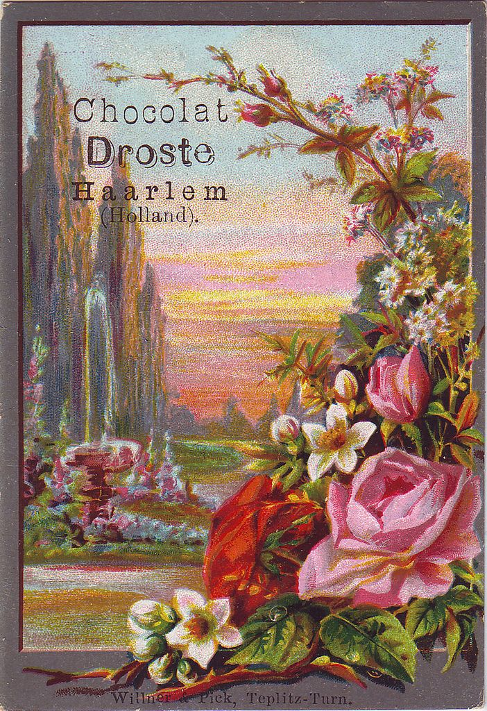 CHOCOLAT DROSTE VIEW AND FLOWER SPRAY | Flickr - Photo Sharing!