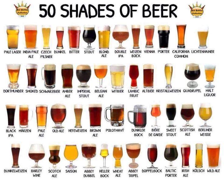 50 Shades of Beer | Bier / Beer - Beer, Beer tasting en ...