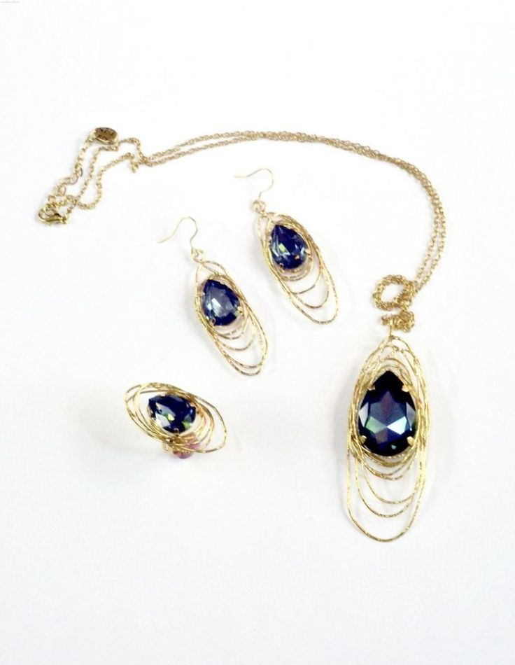 Tria Alfa jewelry sets with Swarovski elements 2