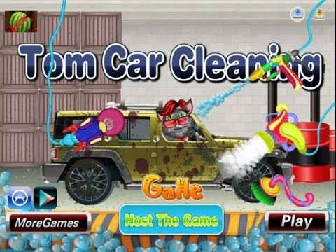 Talking Tom Car Cleaning - Game Tutorial 2016